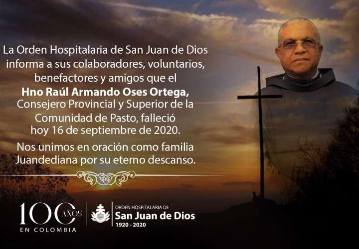 Fallece reconocido sacerdote chorrerano Raúl Oses