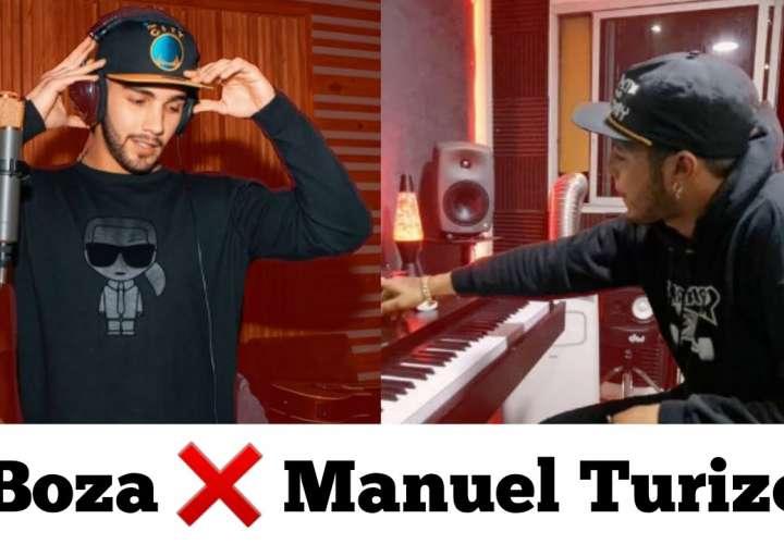 El Boza está pegado y ahora graba canción con Manuel Turizo