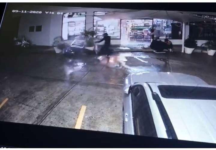 Video muestra el momento del doble asesinato en Buko Market de Bella Vista