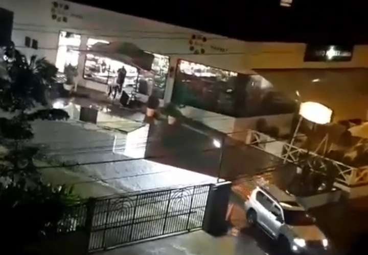 Video muestra los últimos momentos de la balacera en Buko Market (Video)