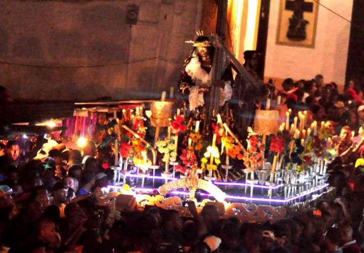 Suspenden procesión del Cristo Negro de Portobelo. Se rompe la tradición