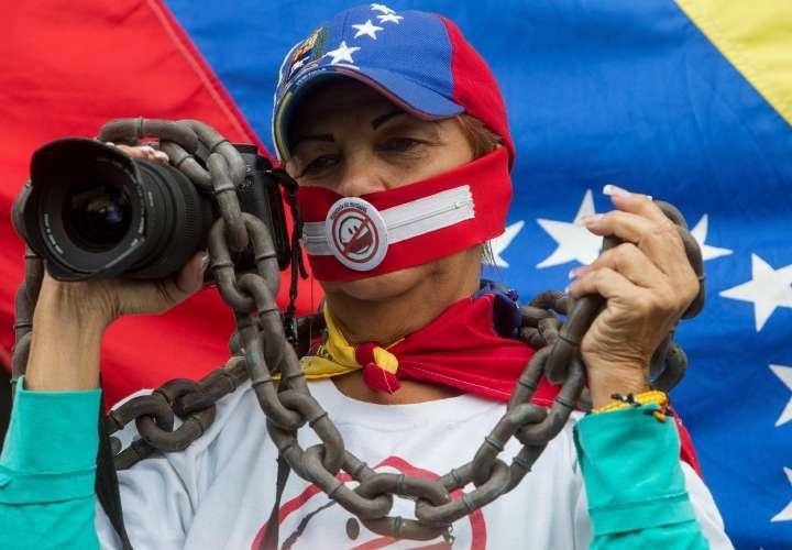 Veto 'parcial' a la libertad de prensa en América