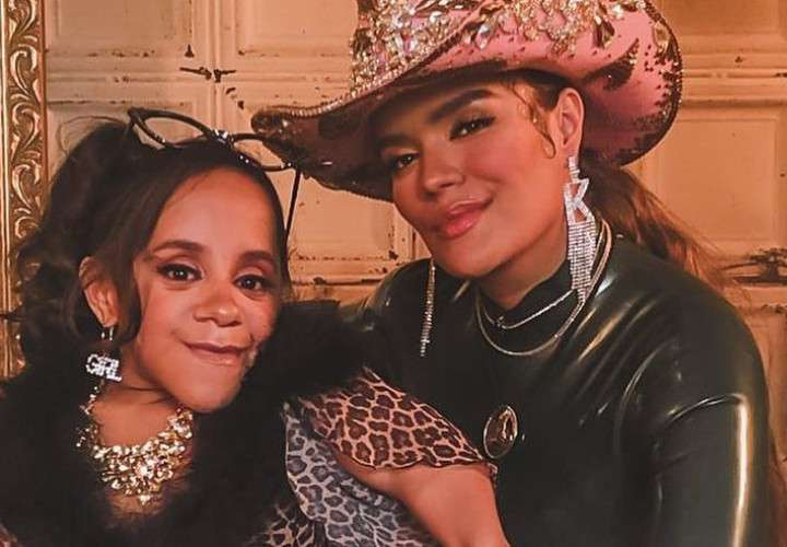 Anita Correa fue invitada por Karol G para su exclusivo video de 'Bichota'