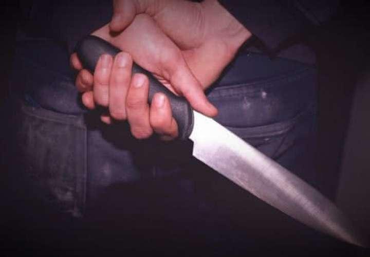 Tres heridos tras ataque con machete en Colón