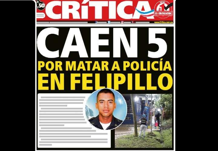 Caen 5 por matar a policía en Felipillo