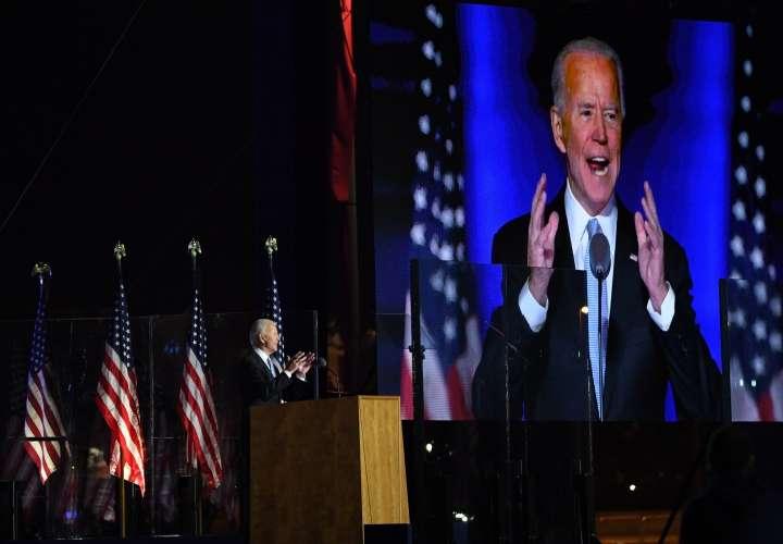 Estado Mayor reconoce a Biden como futuro comandante en jefe