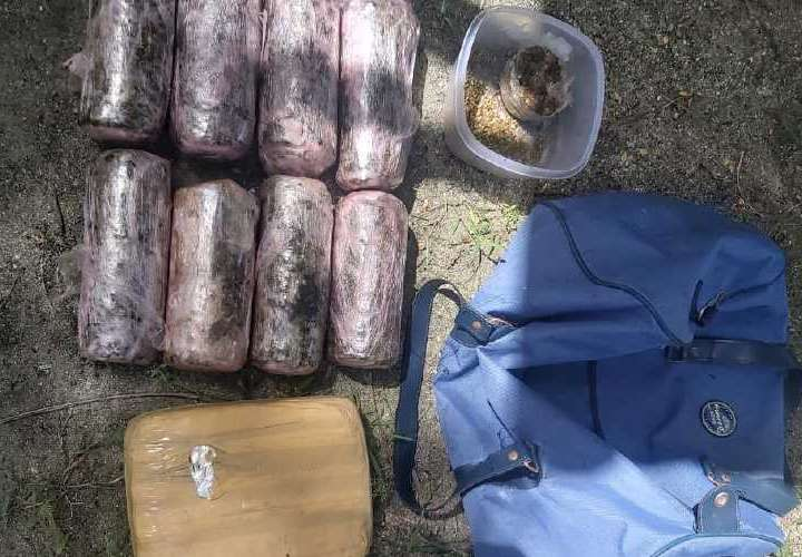 Incautan droga en la Comarca Guna Yala