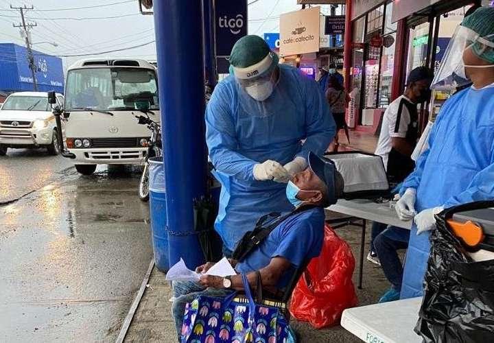 Baja tasa de contagio del Covid-19 en Panamá