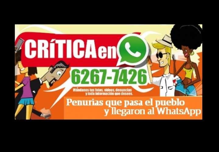#WhatsAppCri Penurias que pasa el pueblo y autoridades no le paran bola
