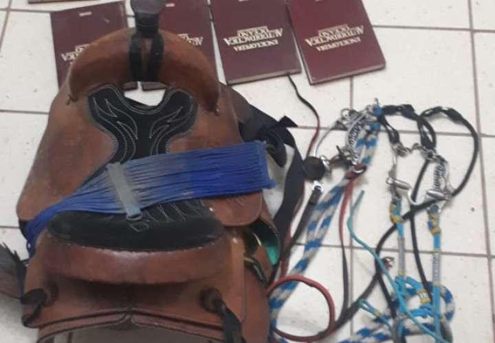 Encuentran armas y artículos de dudosa procedencia en Ocú