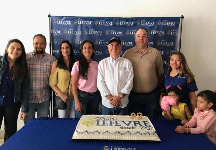 Grupo Lefevre cumplió 82 años de operaciones el pasado 27 de julio. Foto: Cortesía.