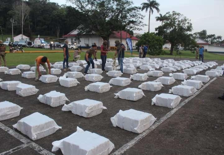 Más de 22 mil 872 paquetes con droga incauta el Senan