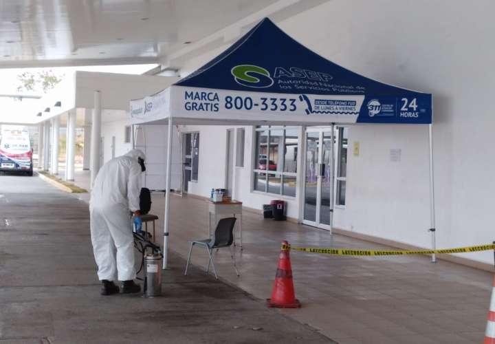 Funcionarios del sector salud afectados por COVID en Herrera
