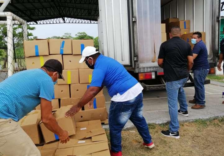 8 mil bolsas de alimentos serán distribuidas en Chame y San Carlos