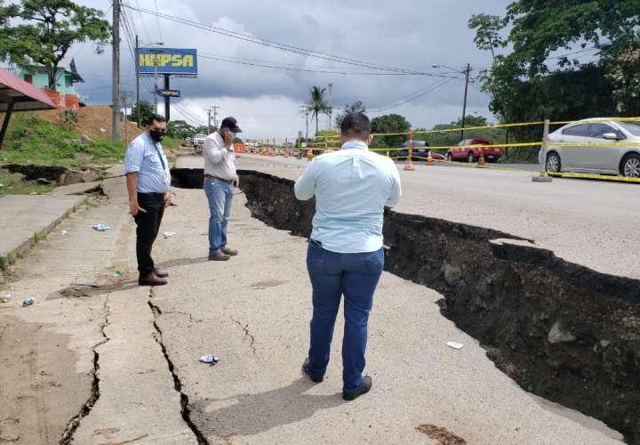 Realizan estudio para verificar qué ocurrió en carretera de Colón