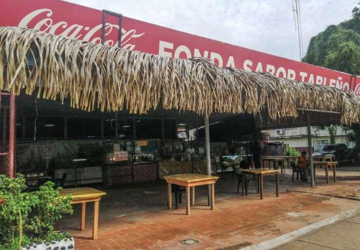 Fondas y restaurantes en Los Santos reinician labores de forma normal