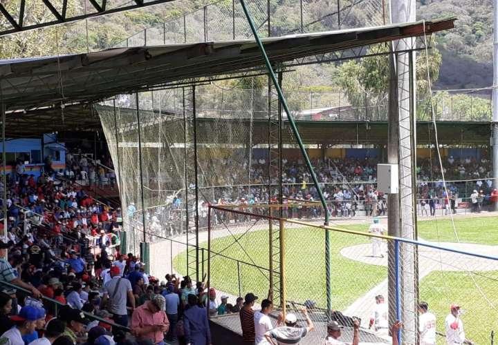 Buena asistencia en uno de los estadios de Nicaragua.