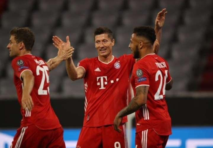 Bayern Múnich terminó el trámite con una goleada ante el Chelsea