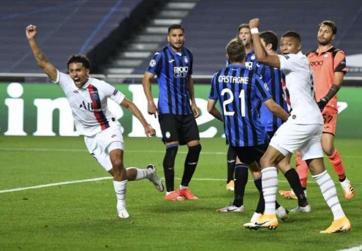 PSG es el primer semifinalista de la Liga de Campeones de la UEFA
