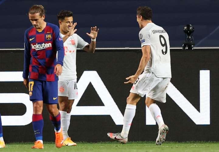 El Bayern le propina una humillante y vergonzosa goleada al Barcelona