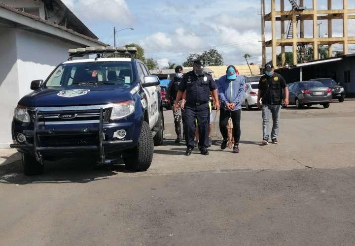 Cinco aprehendidos en Panamá Oeste