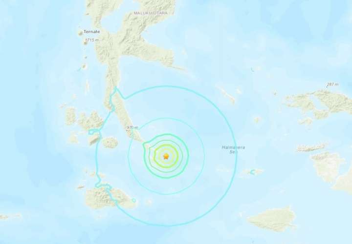 Sismo de magnitud 5,9 sacude Indonesia