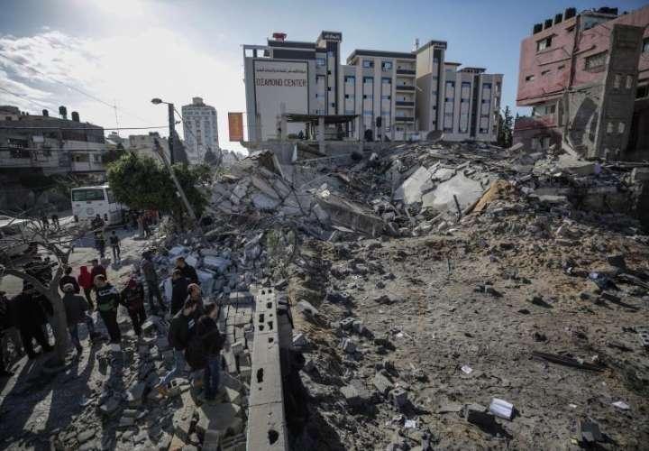 Calma tensa en Gaza por la escalada con Israel, con escuelas y oficinas cerradas