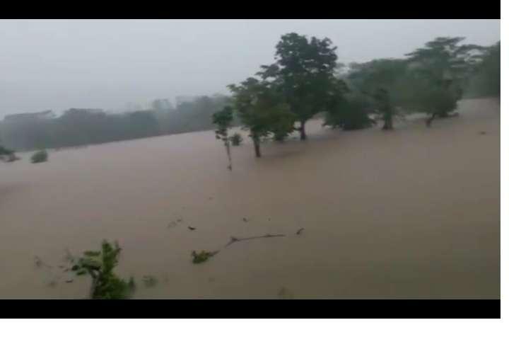 Inundación en Nuevo Tonosí, Portobelo