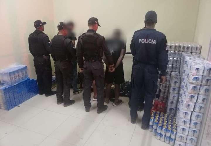 No pudieron meter las cervezas ni licores a la cárcel La Joya