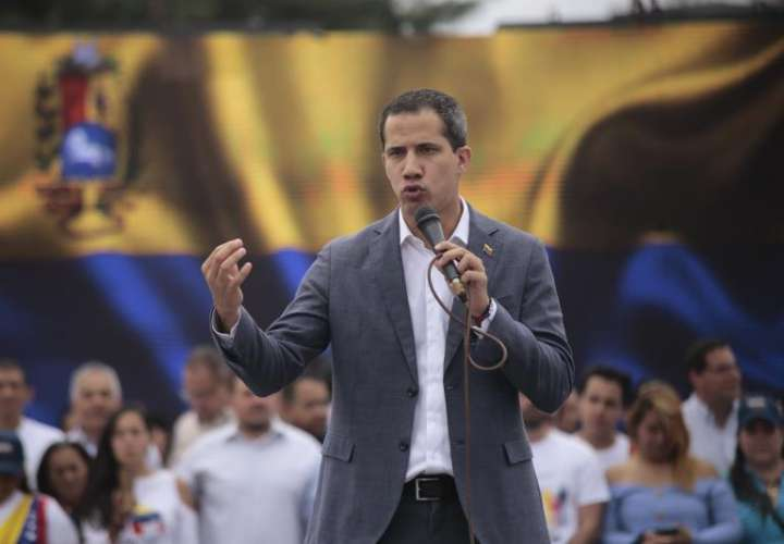 En la imagen, el presidente de la Asamblea Nacional de Venezuela, Juan Guaidó. EFEArchivo