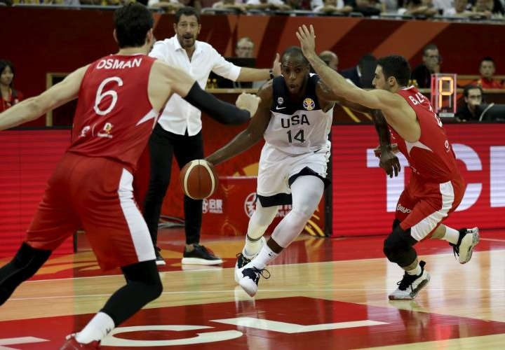 Estados Unidos casi es sorprendido por Turquía en Mundial de Baloncesto