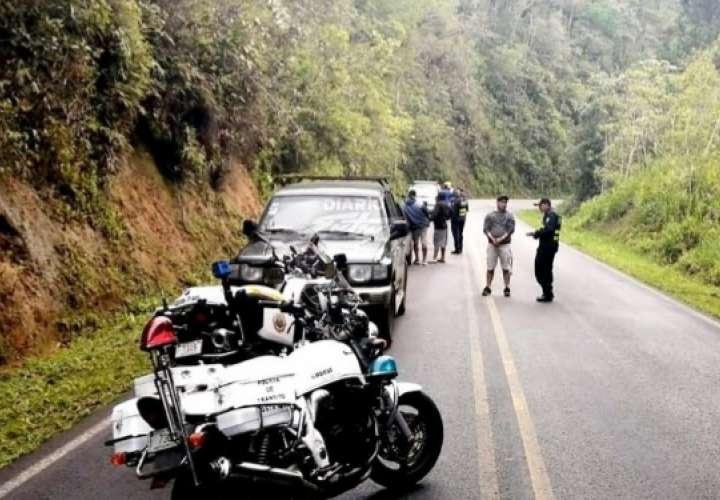 Detienen cerca a Panamá caravana de 14 autos con millonario cargamento de licor