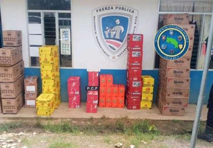 Sigue cayendo licor de contrabando en área fronteriza con Panamá