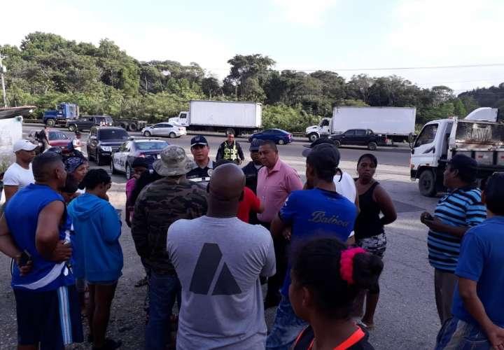 Moradores de Limón protestan por falta de seguridad