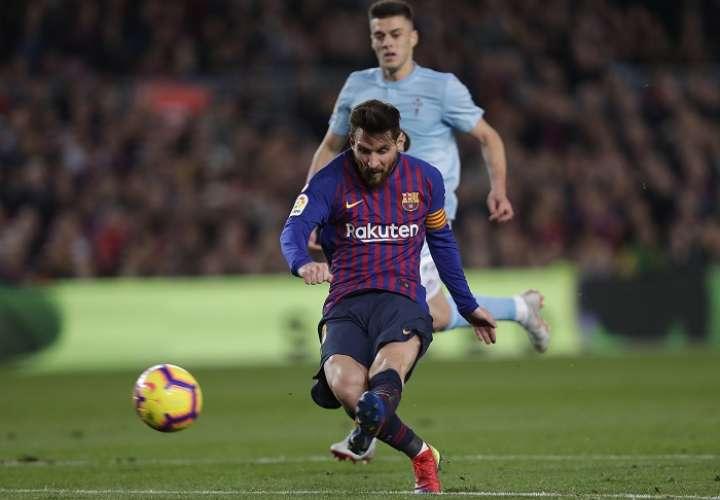 Lionel Messi, capitán del FC Barcelona./ EFE
