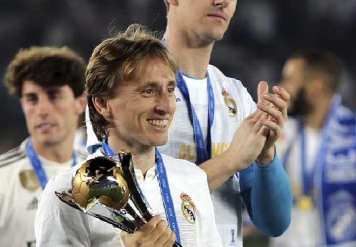 Luka Modric, ganador del Balón de Oro 2018.Foto: AP