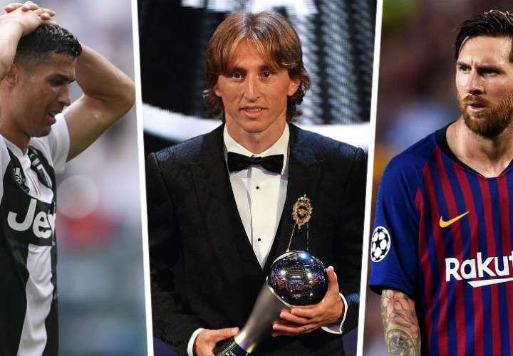 Luka Modric critica a Lionel Messi y a Cristiano Ronaldo