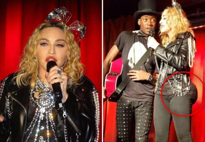 Madonna es víctima de las burlas por el tamaño de su trasero