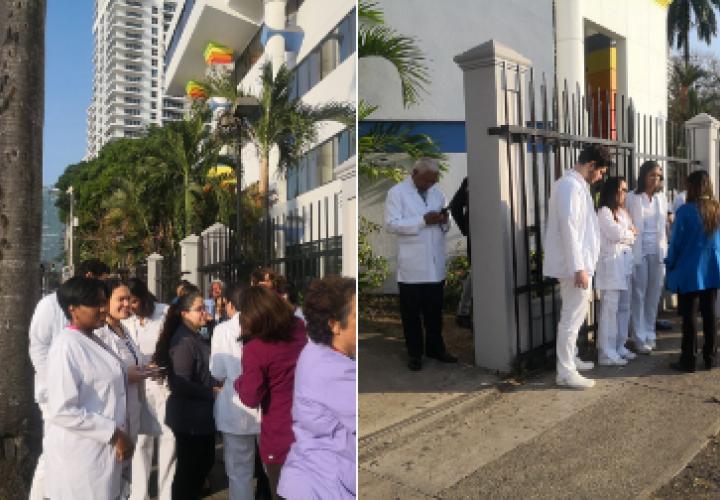 Médicos intensificarán protestas para construcción del nuevo Hospital del Niño