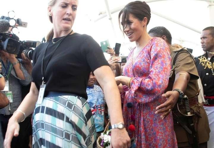 Guardaespaldas que protegía a Meghan Markle renunció de su cargo