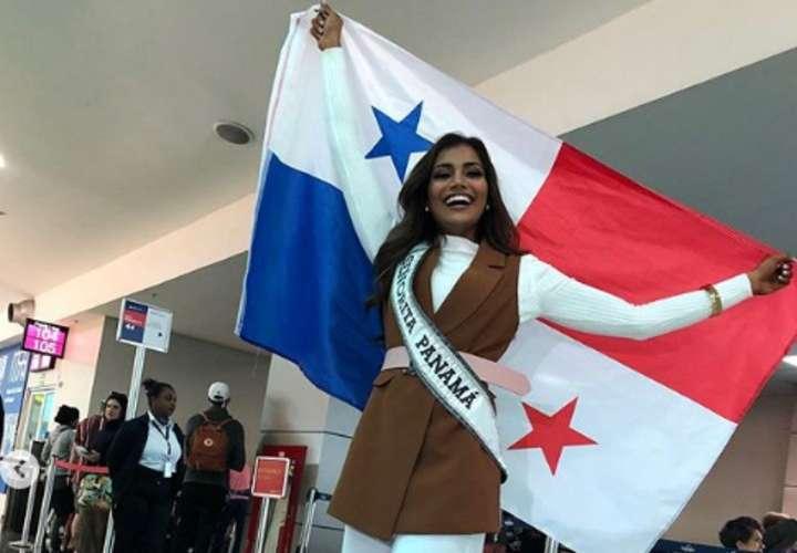 Mehr Eliezer viajó al Miss Universo segura del buen papel que hará