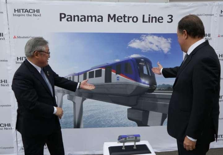 Varela visita Yamaguchi para conocer tecnología detrás de la Línea 3 del Metro