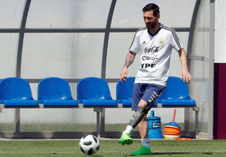 RONNITSY (MOSCÚ), 28/06/2018.- El delantero y capitán de la selección Argentina, Lionel Messi. Foto:EFE