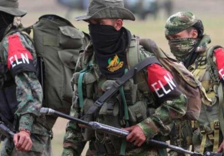 Miembros del Ejército de Liberación Nacional (ELN) de Colombia (Foto EFE)