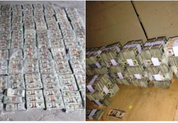 Incautan más de $865 mil en Vacamonte