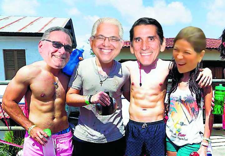 Candidatos preparan su campaña de carnaval