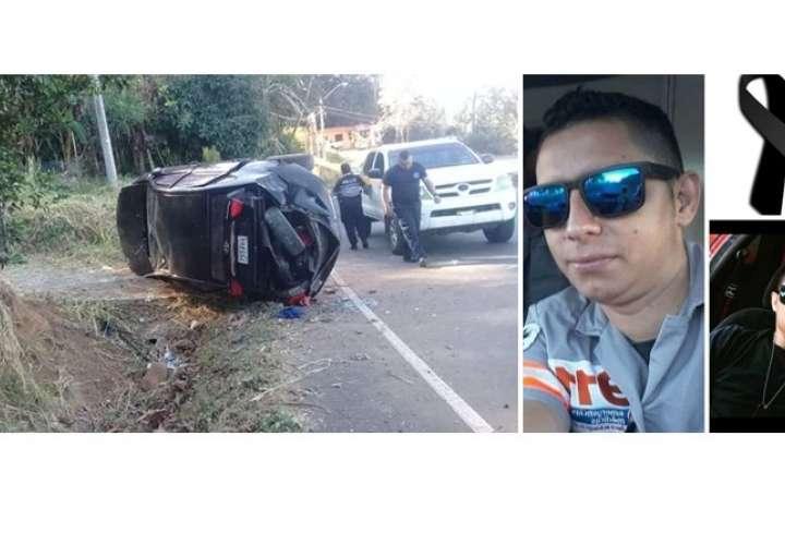 Paramédico pierde la batalla y muere, tras fatal accidente de tránsito