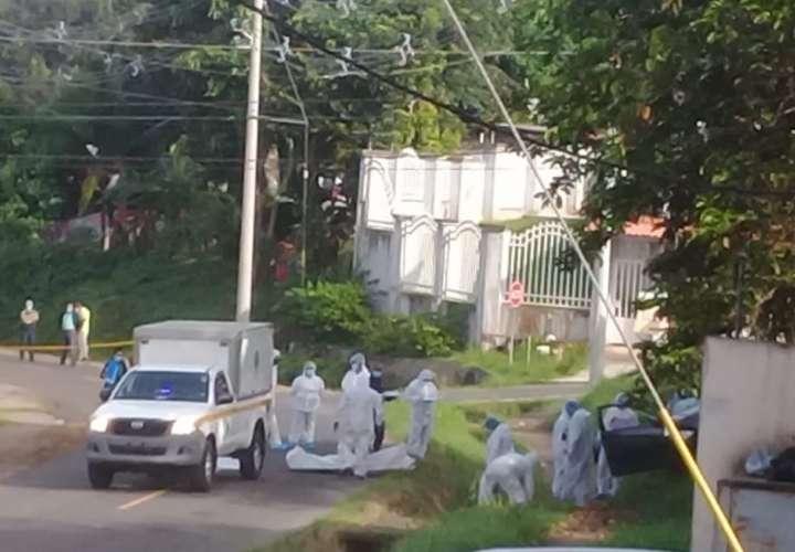 Amanecer de sangre en Panamá Oeste. Asesinan a 3 en la madrugada