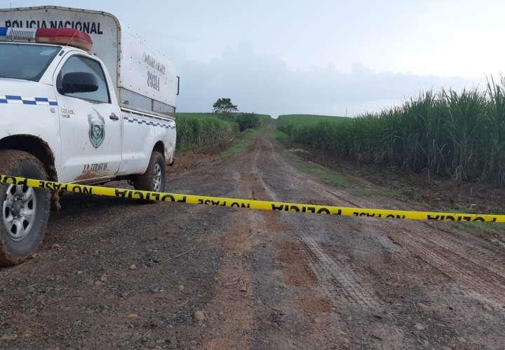 Vista general del área próxima a la escena del crimen. Foto: Melquiades Vásquez