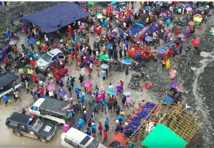 Más de 160 muertos en la mina de jade birmana más grande del mundo (Video)